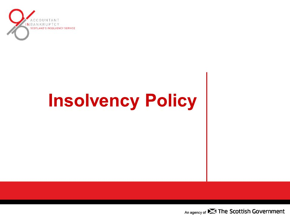 Insolvency Policy