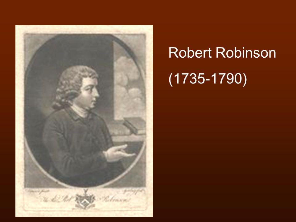 Robert Robinson (1735-1790)