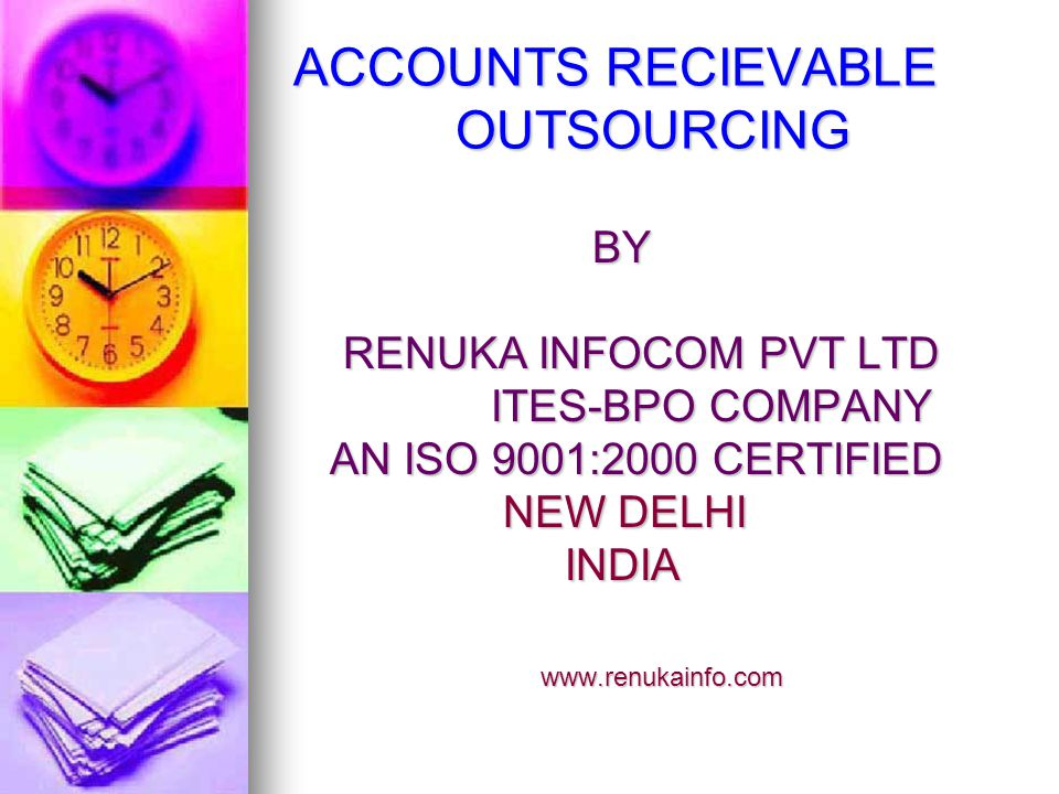 OVERVIEW The accounts receivable process pays an important role under the accounting process.