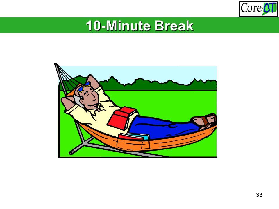 33 10-Minute Break