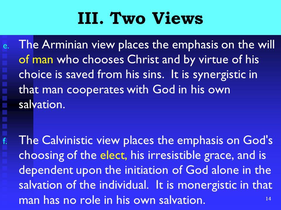 14 III. Two Views e.