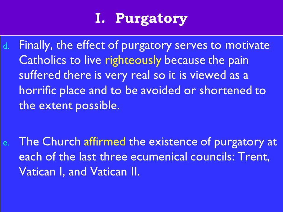 6 I. Purgatory d.