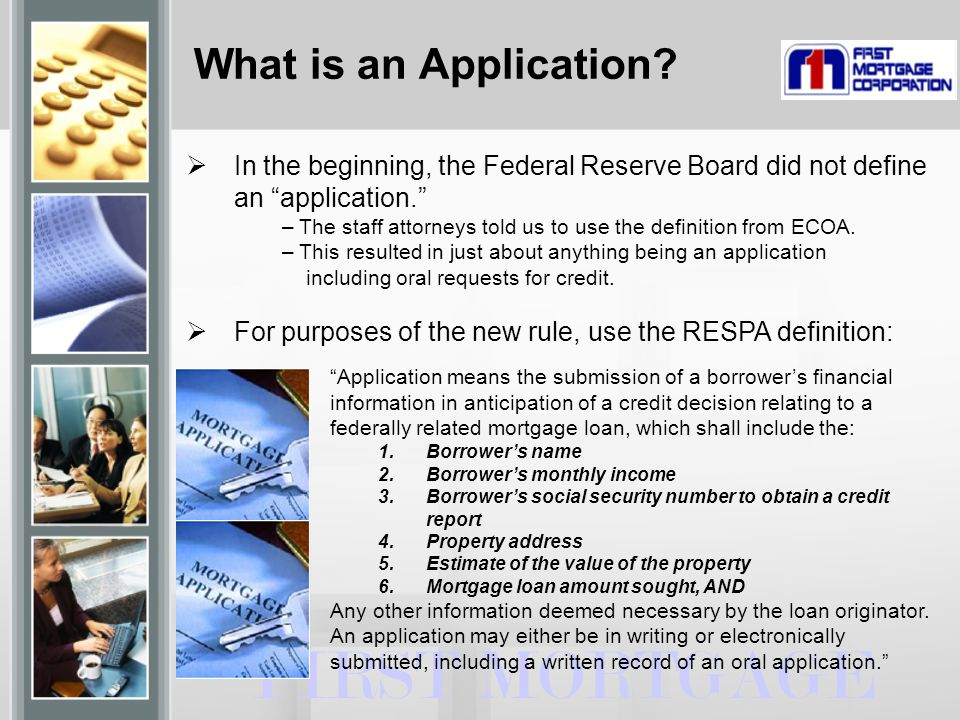 What is an Application.