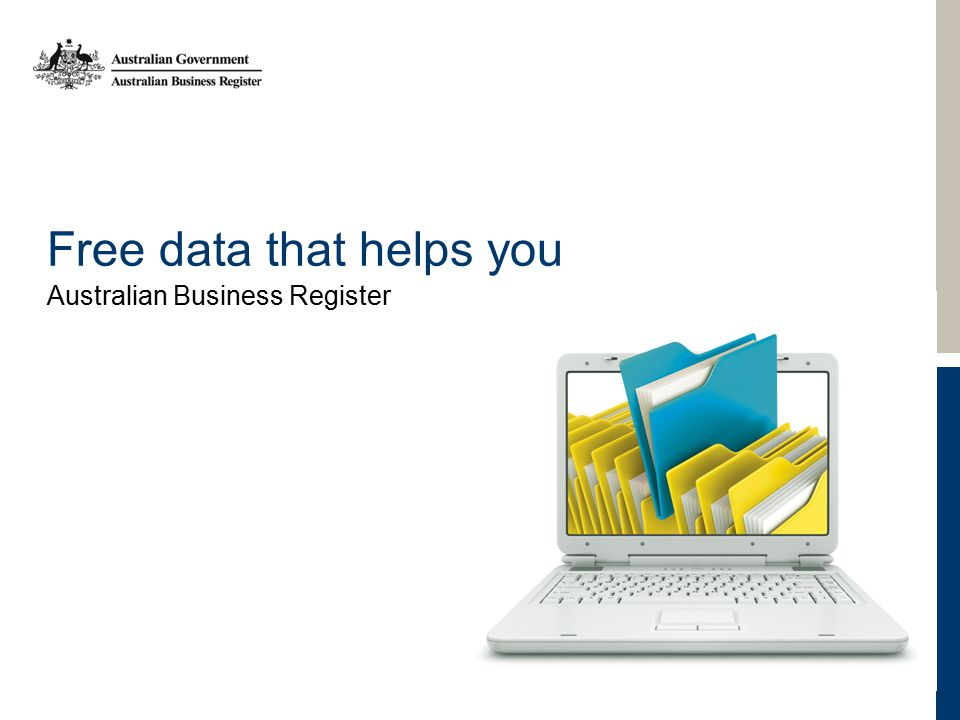 Free data that helps you Australian Business Register