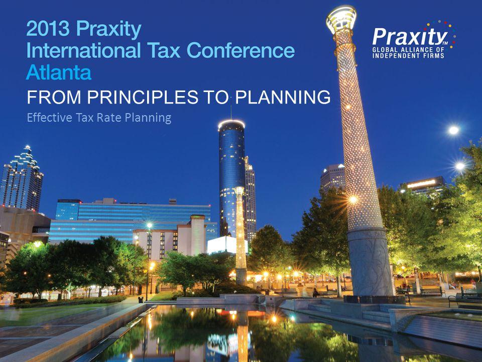 Effective Tax Rate Planning Roy Deaver, Moss Adams LLP Will James, BKD LLP Tim Bloos, MNP LLP