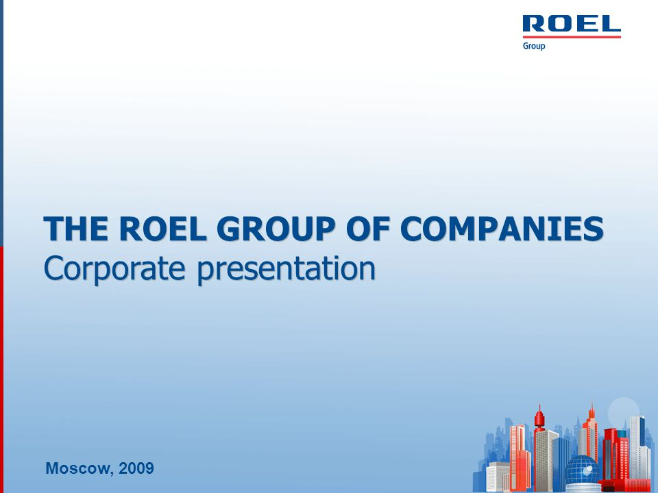 ROEL GROUP OF COMPANIES VENTURE AND START-UP PROJECTS