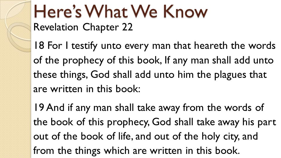 2 Timothy Chapter 3 16 All scripture is given by inspiration of God, and is profitable for doctrine, for reproof, for correction, for instruction in righteousness: 17 That the man of God may be perfect, throughly furnished unto all good works.
