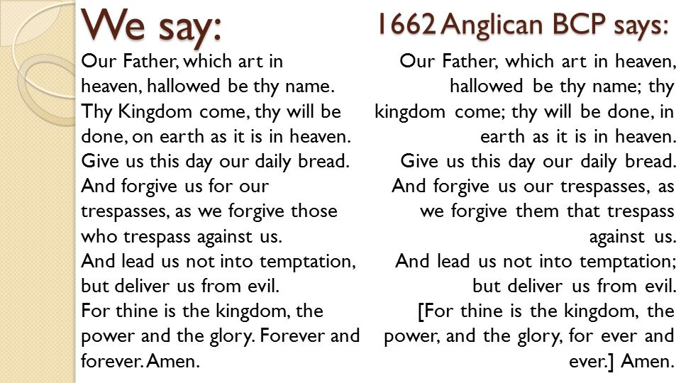 The Church of Jesus Christ of Latter-day Saints does not use the Lord s Prayer in worship.