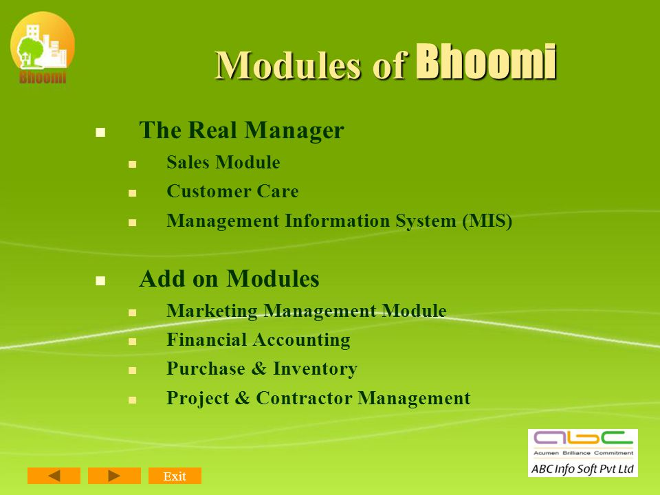 Technology Bhoomi has been designed on the latest available Microsoft technologies which gives it an edge in terms of extensive designing tools and compatibility with the latest devices & future updates.