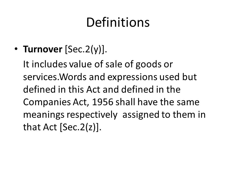 Definitions Shares[Sec.2(v)]. It means shares in the capital of a company carrying voting rights and includes- (i) any security which entitles the hol