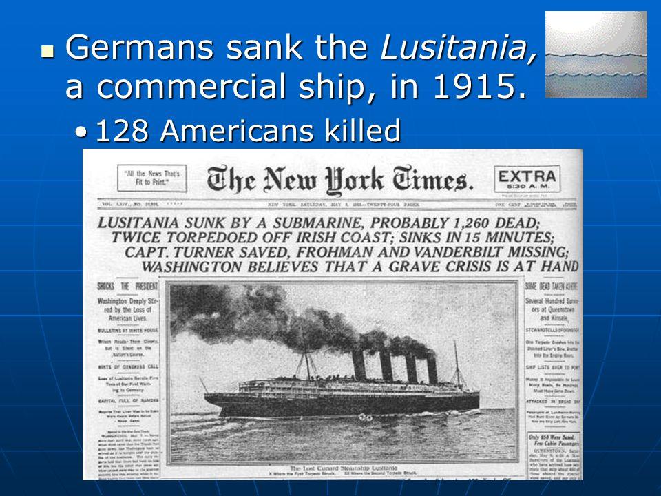 U.S. declares war on Germany 1917