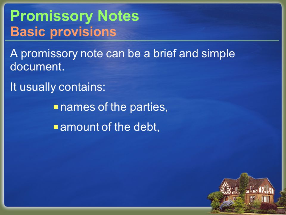 Security Instruments Deed of trust Similar to mortgage, but involves three parties, rather than two.