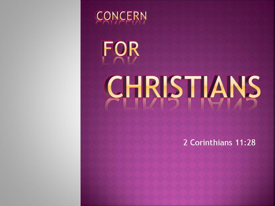 2 Corinthians 11:28