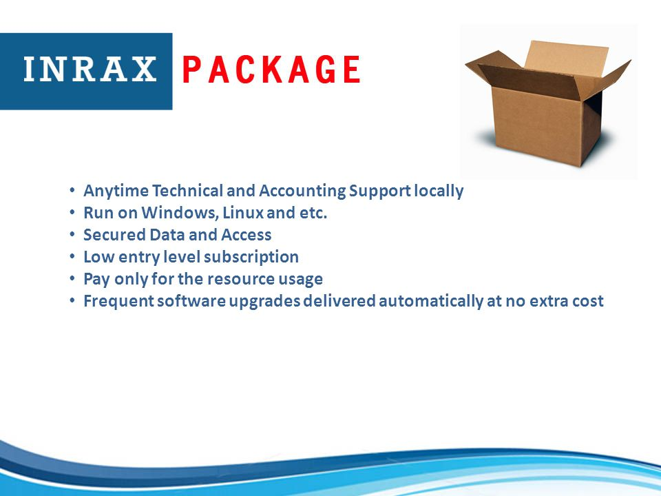 Anytime Technical and Accounting Support locally Run on Windows, Linux and etc.