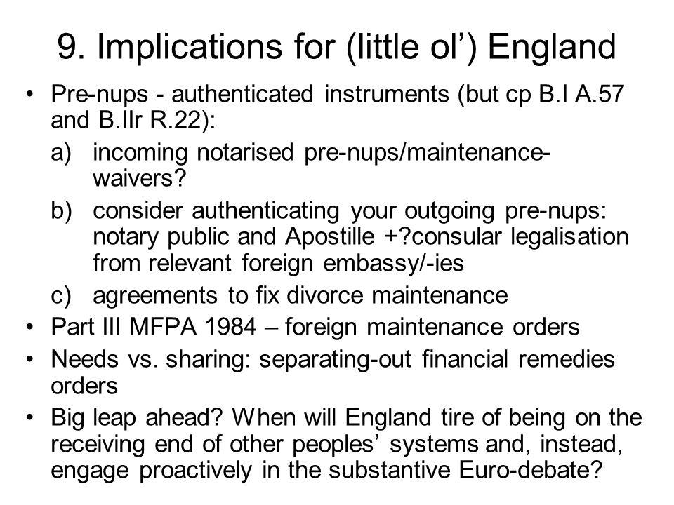 10.Perspective of the euro-political juridical debate Euro/Civil-law vs.