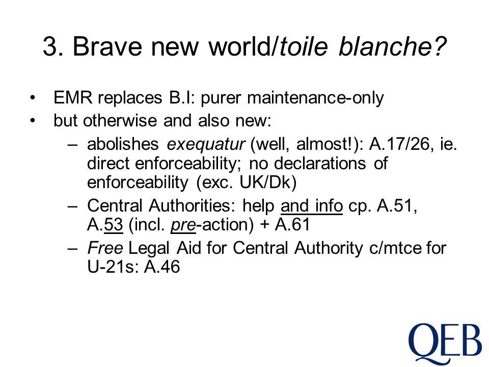 3. Brave new world/toile blanche.