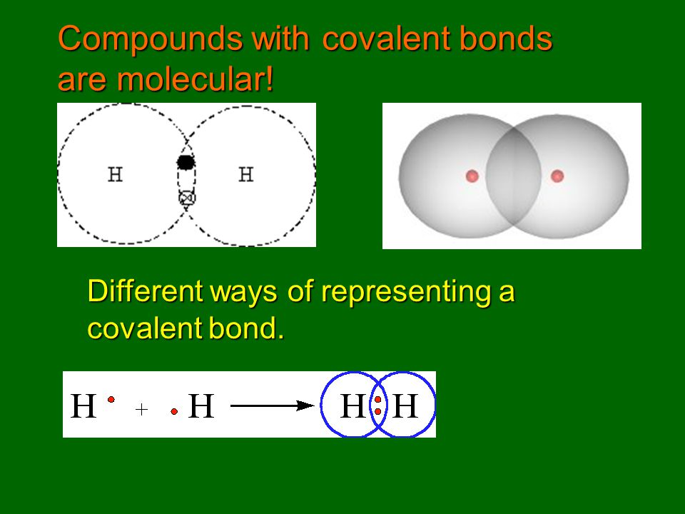 Recognizing covalent formulas Covalent bonding occurs between nonmetal atoms.