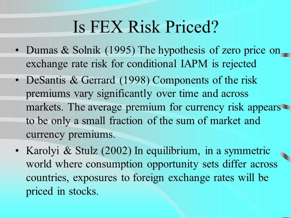 References (Contd.) International Asset Pricing Under Market Imperfections - Tests Errunza, V., E.