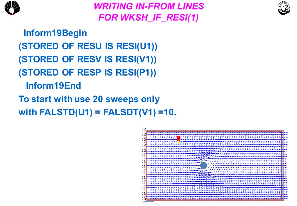 MULTLAB FEM-UNICAMP UNICAMP WKSH_IF_RESI(1) Pressure residuals field for 20 sweeps.