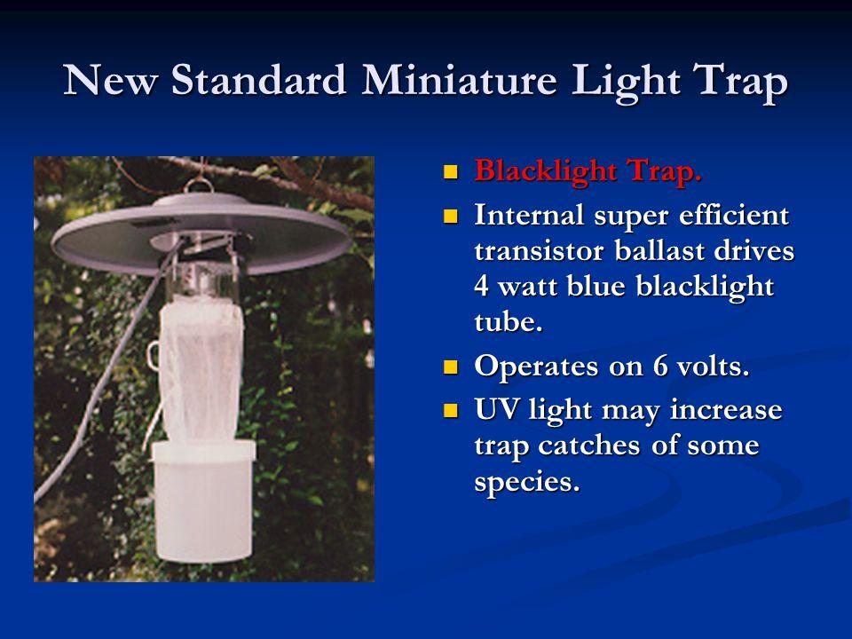 New Standard Miniature Light Trap Blacklight Trap.