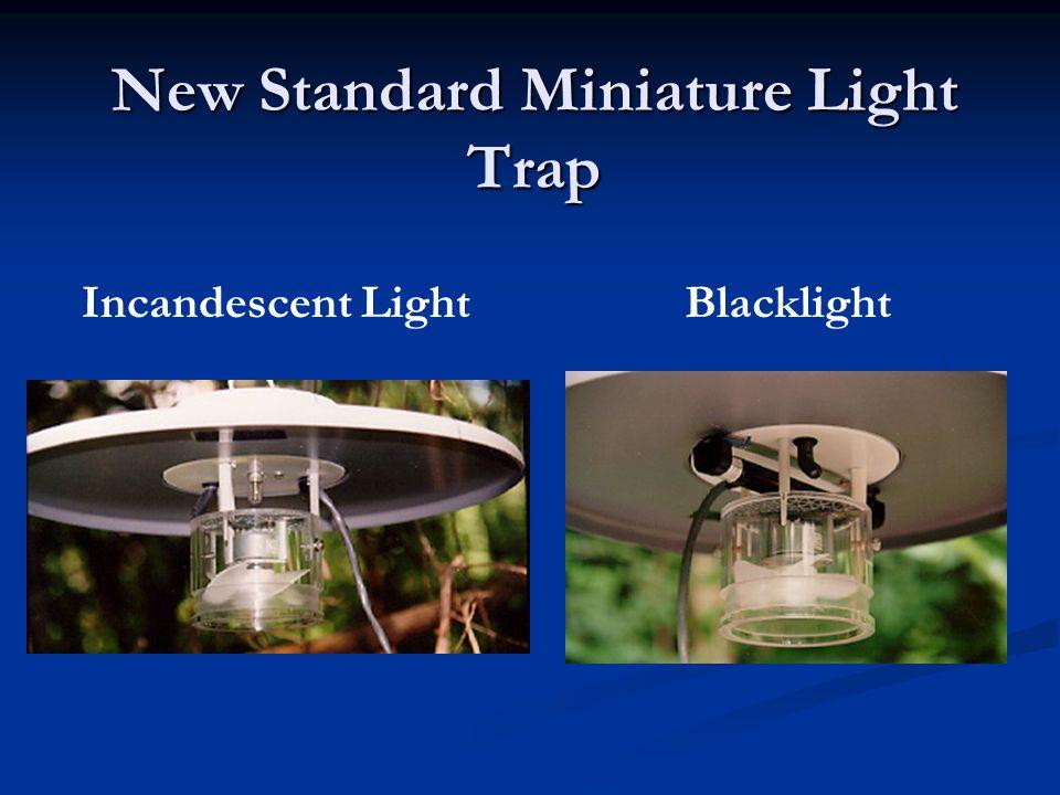New Standard Miniature Light Trap BlacklightIncandescent Light