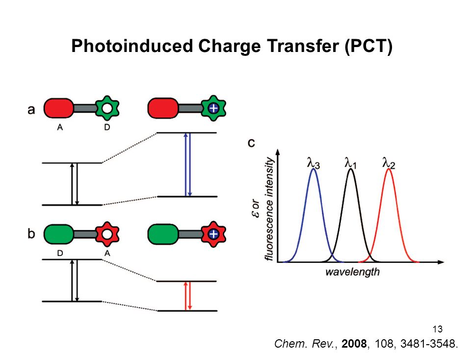 13 Chem. Rev., 2008, 108, 3481-3548. Photoinduced Charge Transfer (PCT)