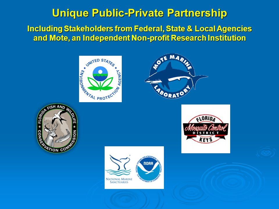 Unique Public-Private Partnership Including Stakeholders from Federal, State & Local Agencies and Mote, an Independent Non-profit Research Institution