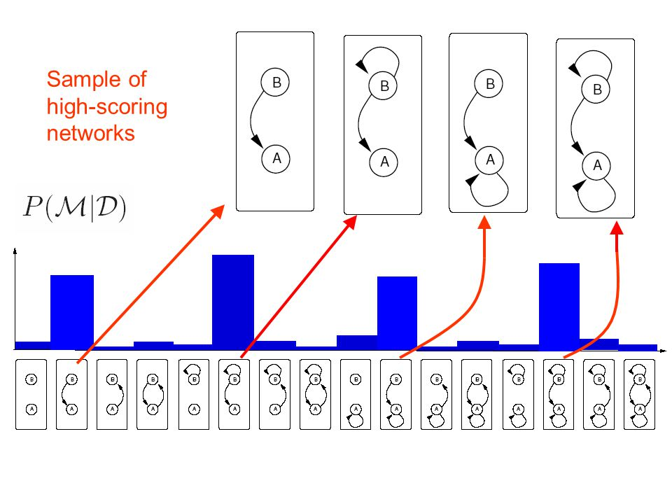 Sample of high-scoring networks