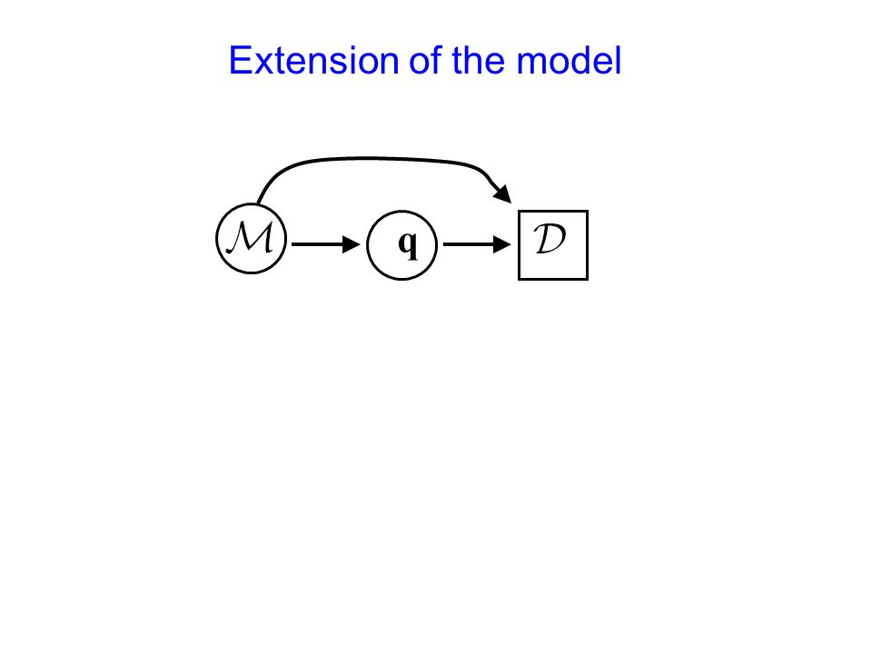 Extension of the model q