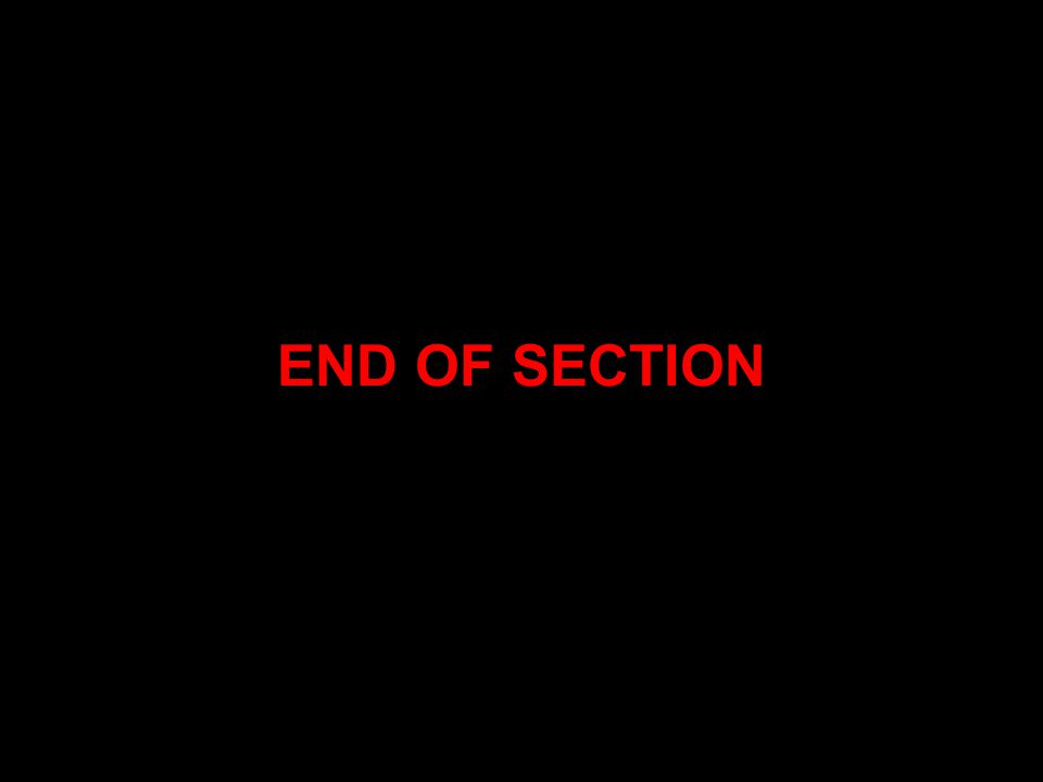 END OF SECTION