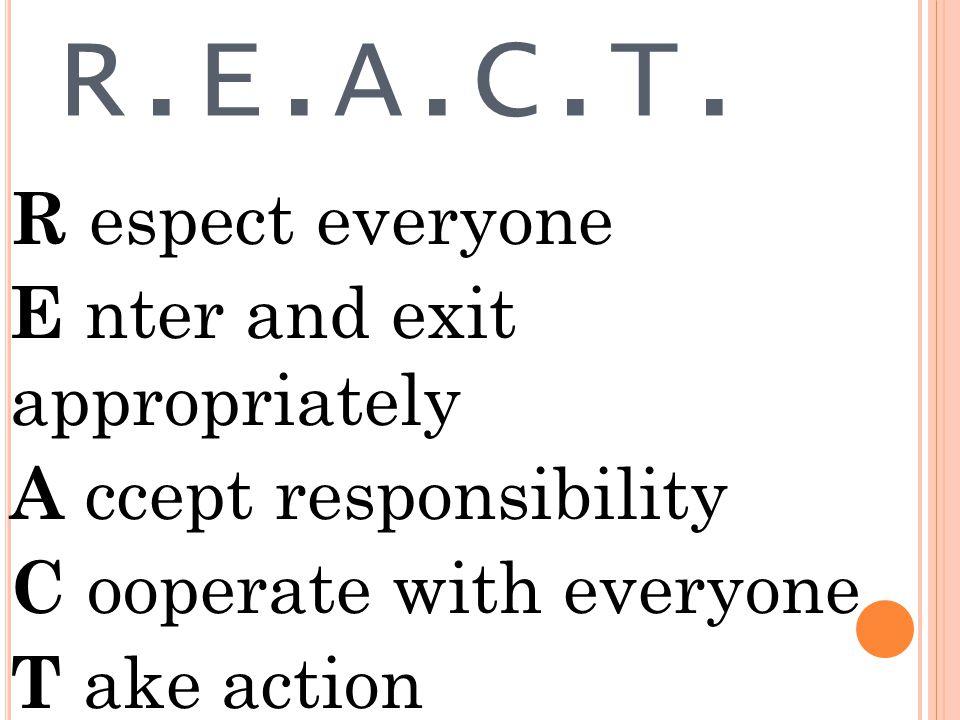 REACT !!!!!