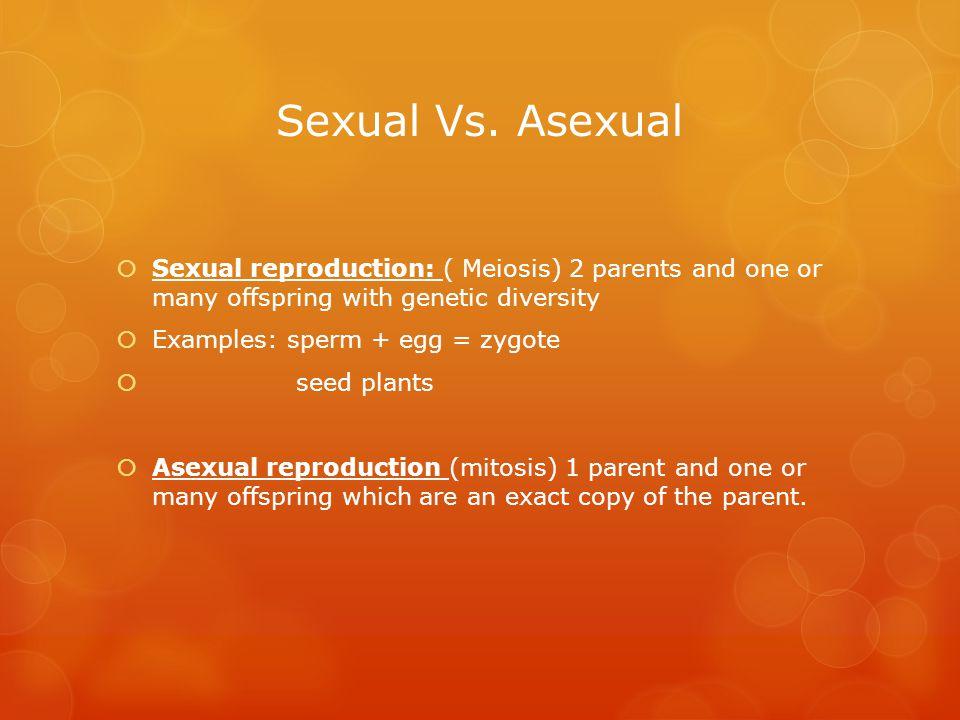 Sexual Vs.