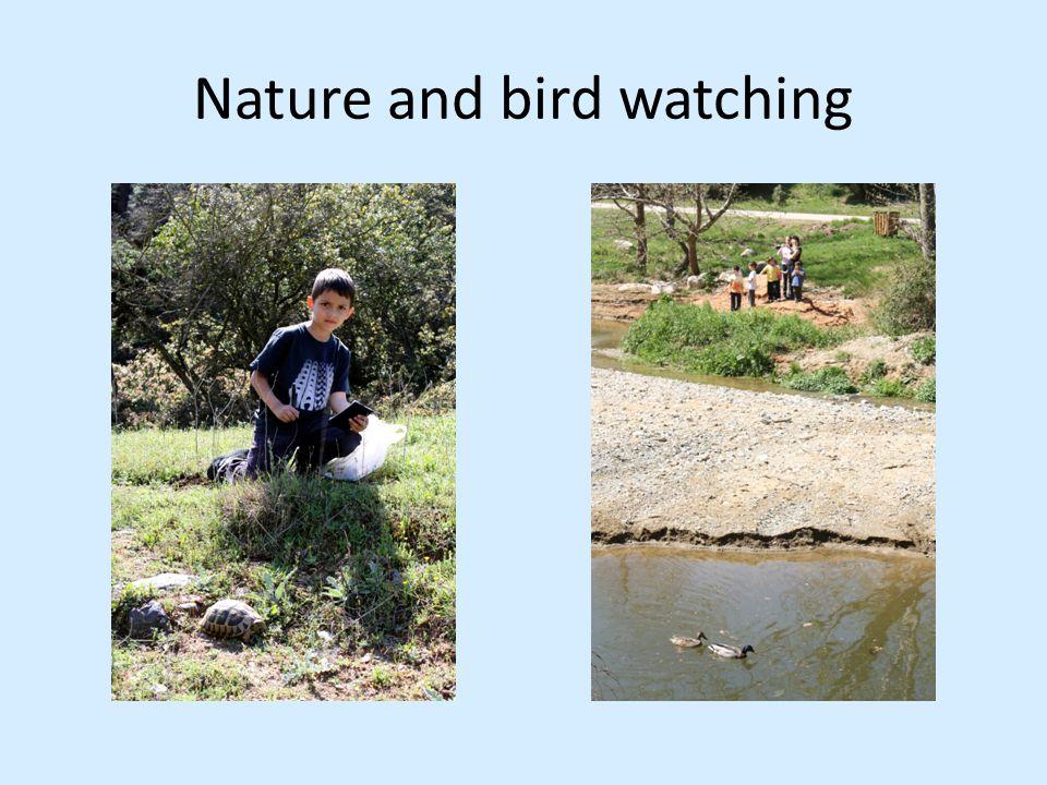 Nature and bird watching
