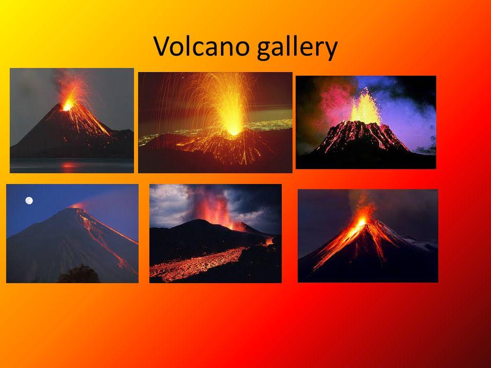 Volcano gallery