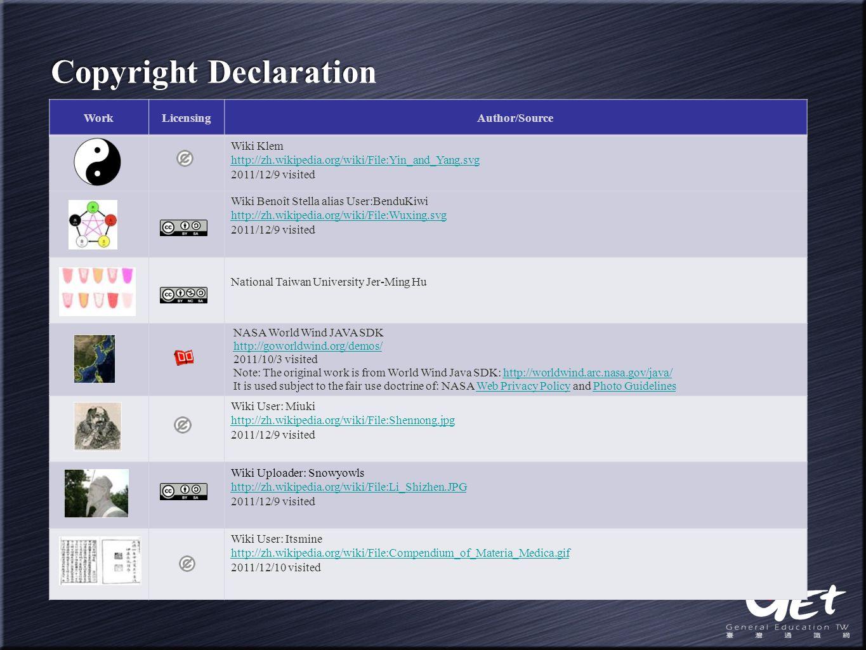 WorkLicensingAuthor/Source Wiki Klem http://zh.wikipedia.org/wiki/File:Yin_and_Yang.svg 2011/12/9 visited Wiki Benoît Stella alias User:BenduKiwi http