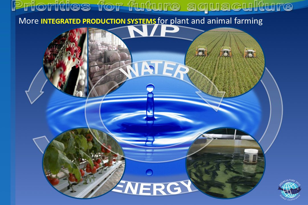 More INTEGRATED PRODUCTION SYSTEMS for plant and animal farming