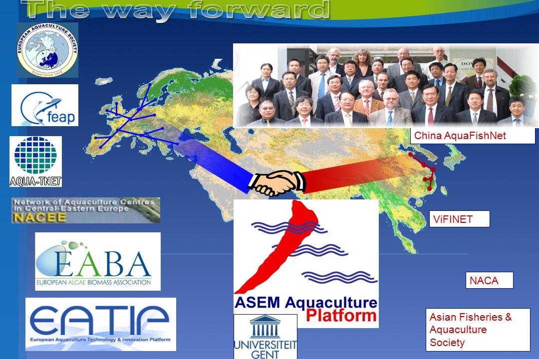 ViFINET NACA Asian Fisheries & Aquaculture Society China AquaFishNet
