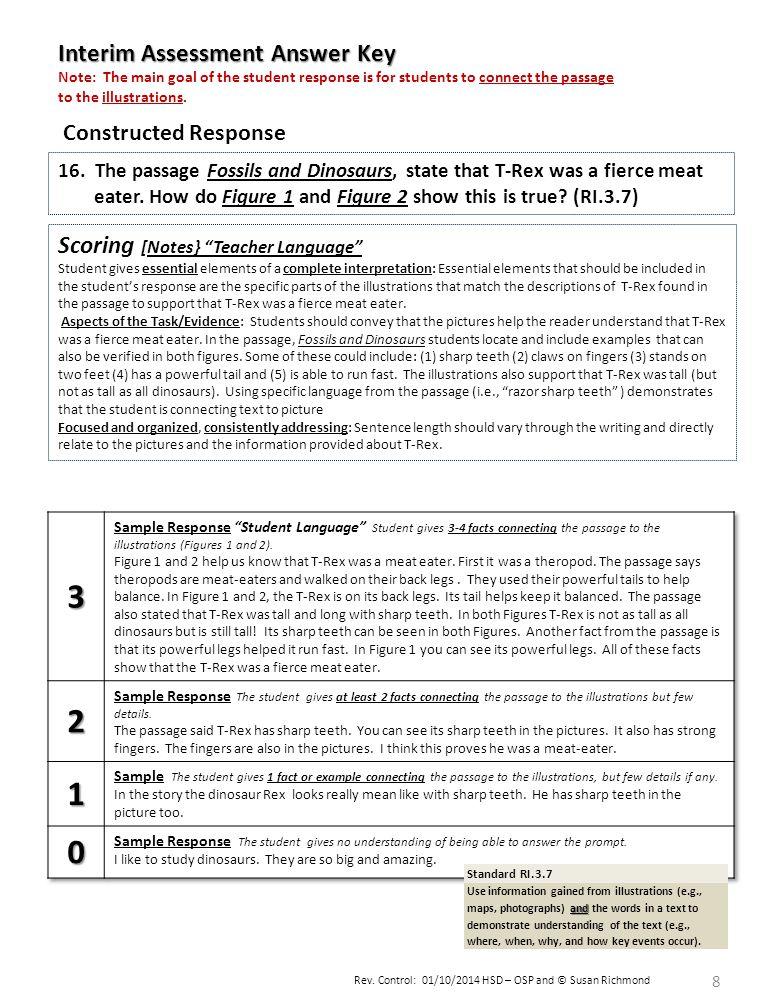 Rev.Control: 01/10/2014 HSD – OSP and © Susan Richmond 8 16.