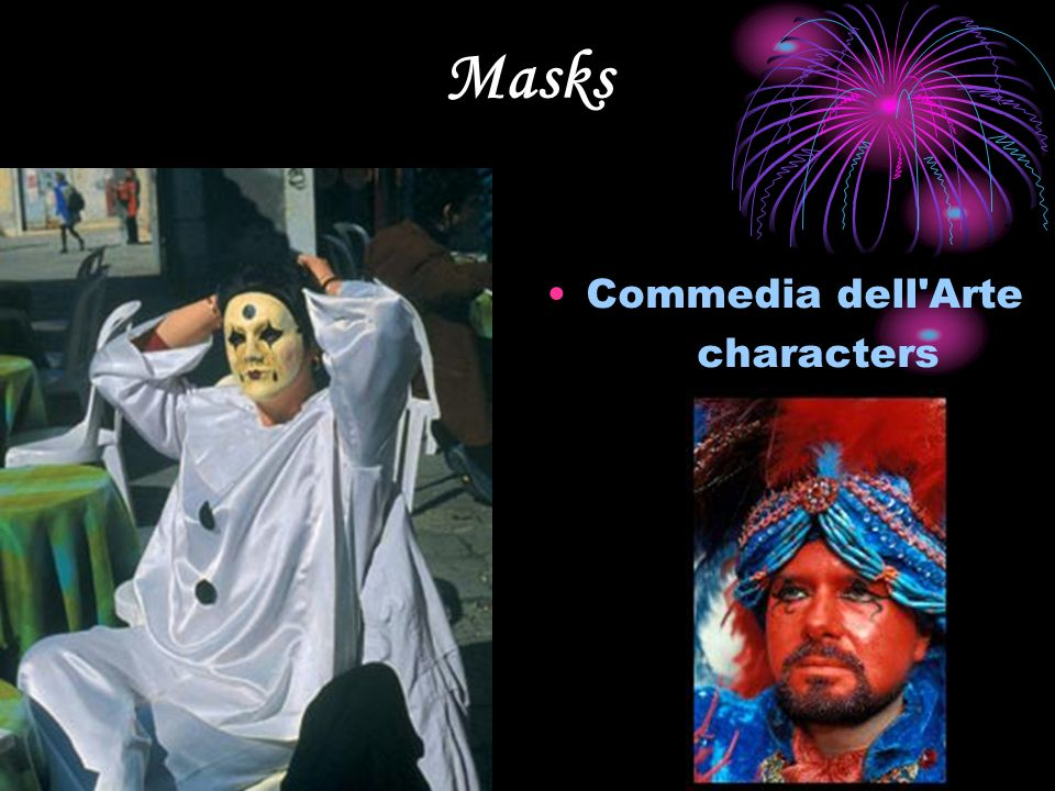 Masks Commedia dell Arte characters