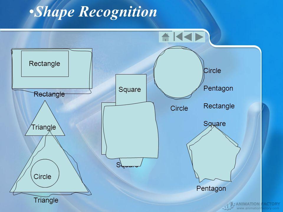 Rectangle Square Triangle Circle Pentagon Shape Recognition Rectangle Square Pentagon Circle Triangle Rectangle Square Triangle Circle Pentagon