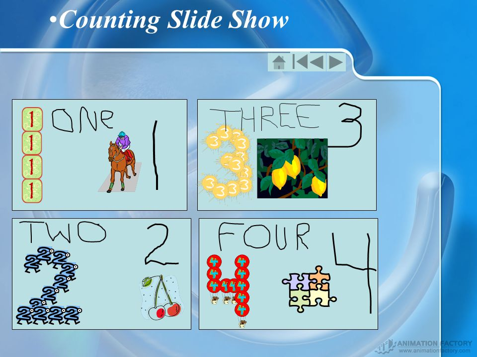 Counting Slide Show