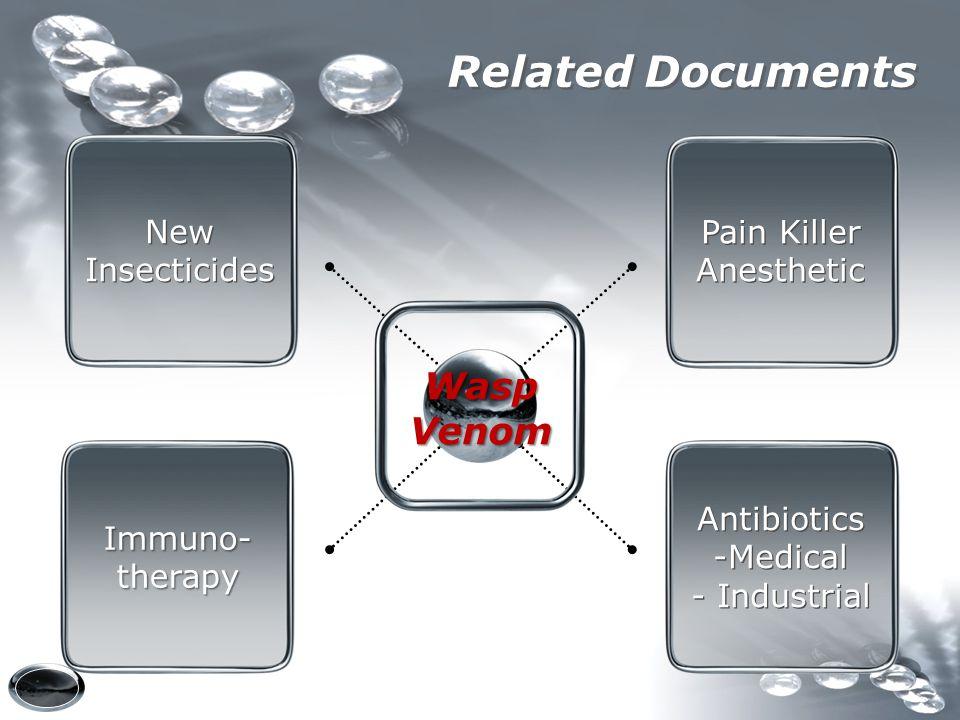 Related Documents New Insecticides New Insecticides Pain Killer Anesthetic Pain Killer Anesthetic Antibiotics -Medical - Industrial Antibiotics -Medic