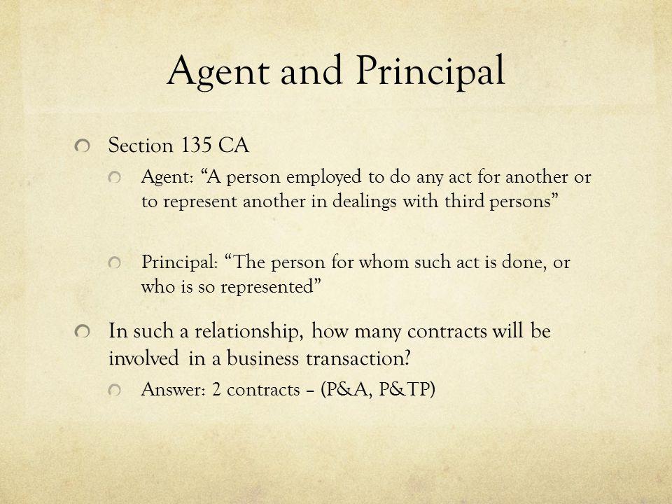 Requirements of Principal S.