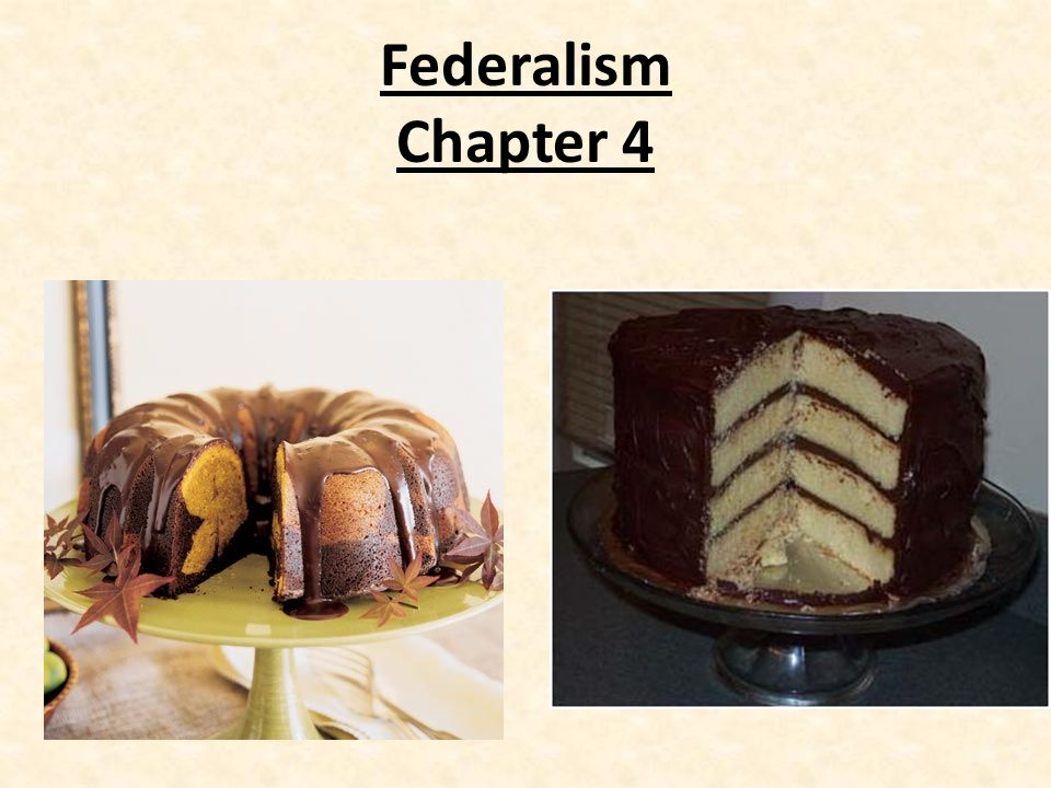 Federalism Chapter 4