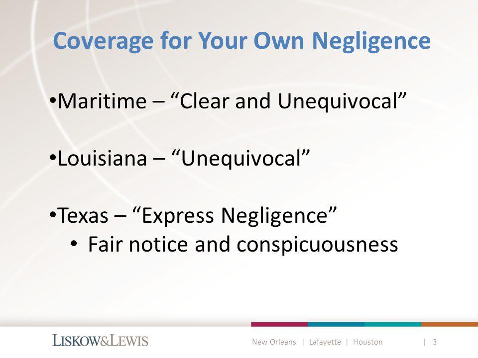 New Orleans | Lafayette | Houston | 3 Randall v.