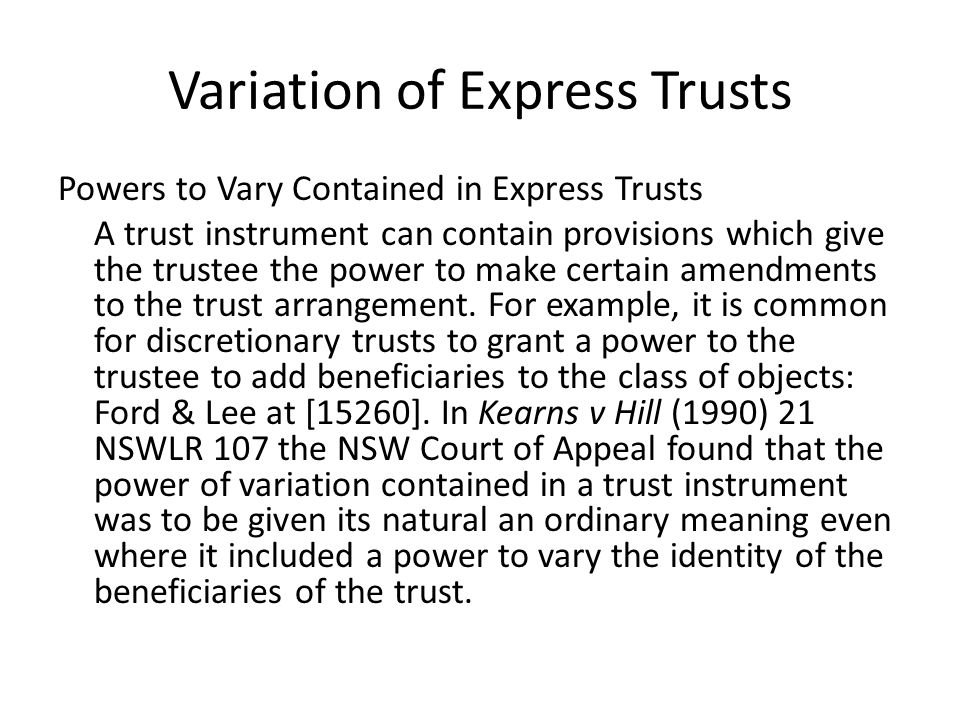 Agusta Pty Ltd v Provident Capital Ltd [2012] NSWCA 26 Agusta incurred fees to Provident, when it was acting as a trustee.