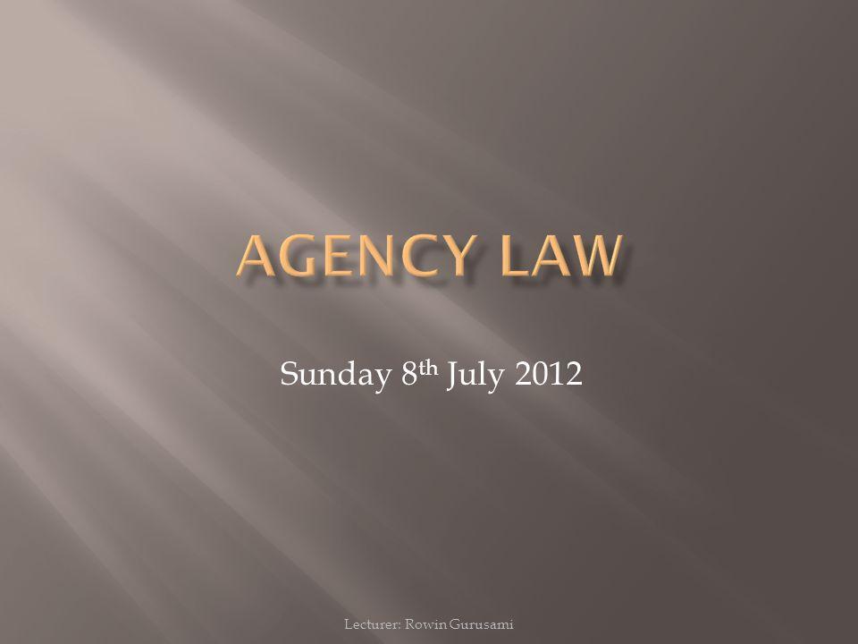 Lecturer: Rowin Gurusami Sunday 8 th July 2012