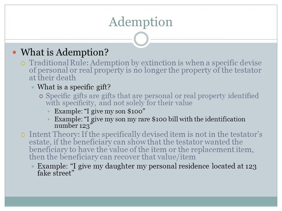 Right of Omitted Spouse Probate Code Section 21612 (a) Except as provided in subdivision (b), in satisfying a share provided by this chapter: (1) The share will first be taken from the decedent s estate not disposed of by will or trust, if any.