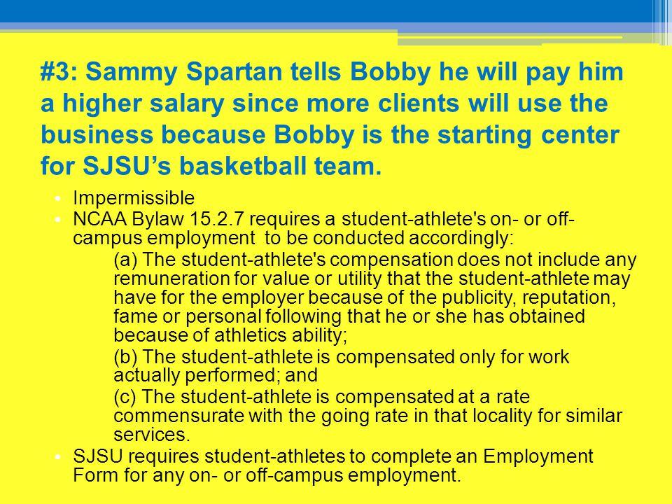 #4: Sammy Spartan invites Bobby Bigman to his house for Sunday dinner.