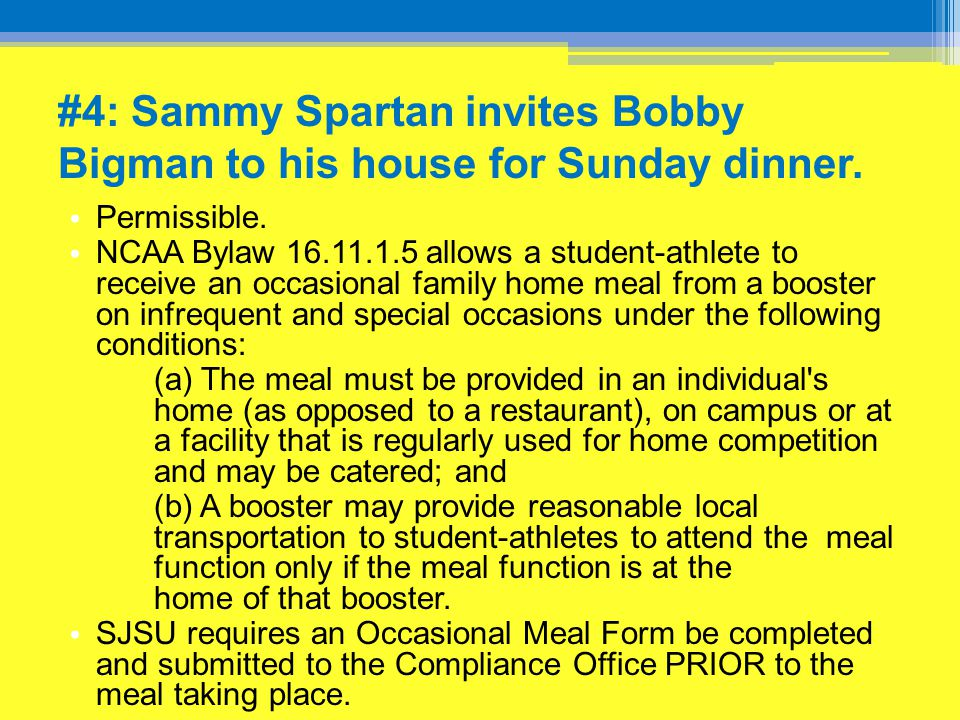 #13: Sammy Spartan realizes he has enough paperweights to give one to each of the recruits.